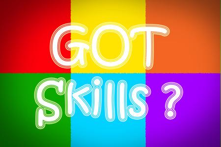 interpersonal: Got Skills Concept text