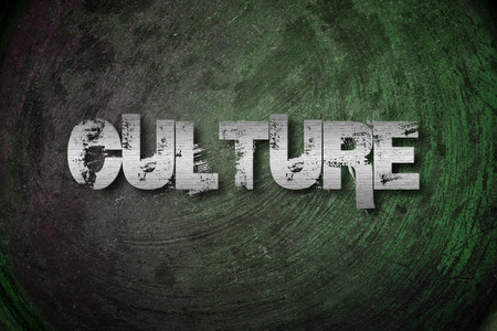 Culture Concept idea text on background