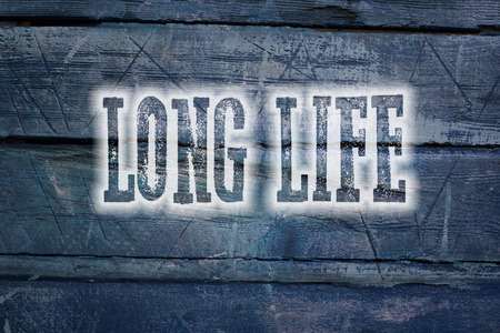 eating questions: Long Life Concept text on background