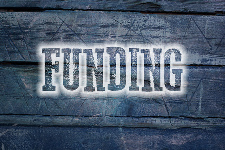 nonprofit: Funding Concept text on background