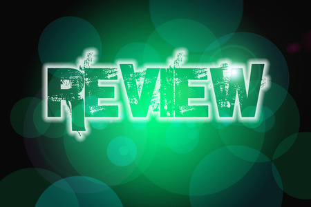 reassessment: Review Concept text on background Stock Photo