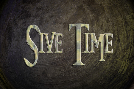 Save Time Concept text on background photo