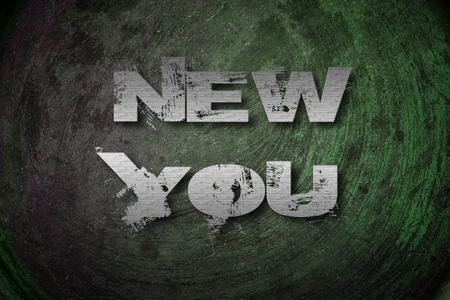 New You Concept text on background photo
