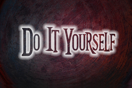 Do It Yourself Concept text on background photo