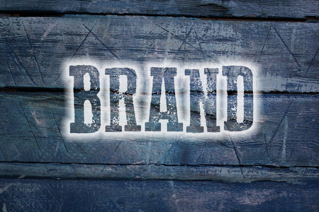 branded product: Brand Concept text on background