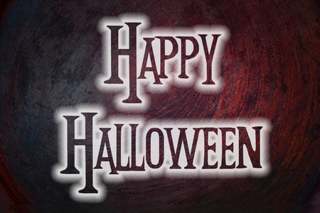 Halloween Background text photo