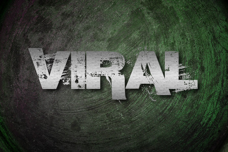 newest: Viral Concept text on background