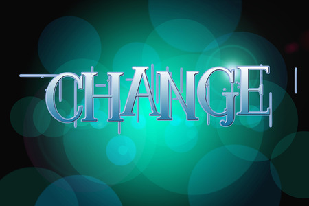 Change Concept text on background photo
