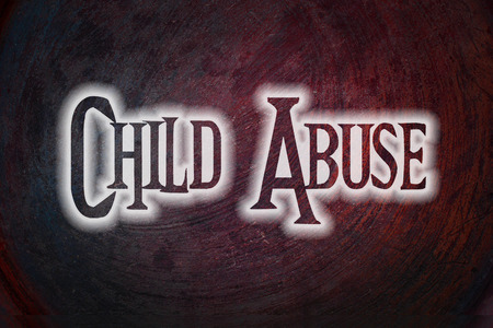 pedophilia: Child Abuse Concept text on background