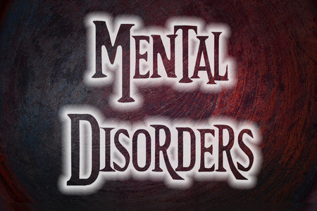 epilepsy: Mental Disorders Concept text on background