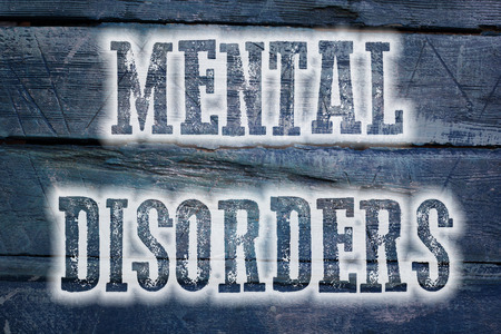 stimulation: Mental Disorders Concept text on background