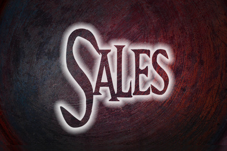 energize: Sales Concept text on background