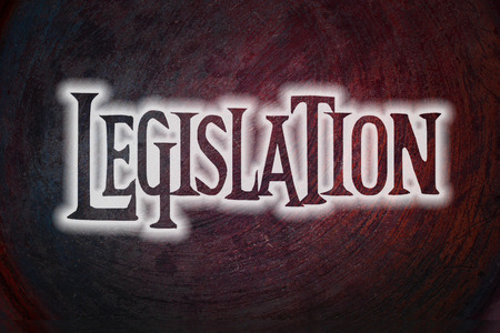 lawfulness: Legislation Concept text on background
