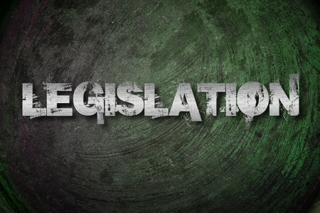 legislation: Legislation Concept text on background