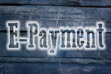 epayment: Online Payment Concept text on background