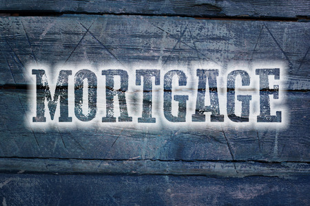 endorsing: Mortgage Concept text on background