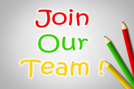 join our team: Join Our Team Concept text on background