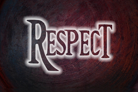 believable: Respect Concept text on background