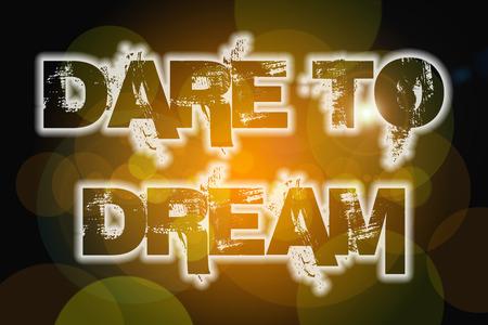 osare: Dare To Dream testo Concetto su sfondo