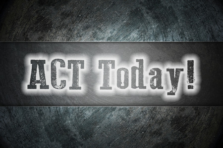 Action Changes Things concept text on background photo
