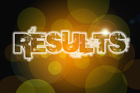 Result Concept text on background