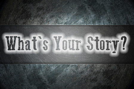 What Is Your Story Concept photo