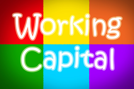 net trade: Working Capital Concept text