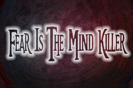fear: Fear Is The Mind Killer Concept