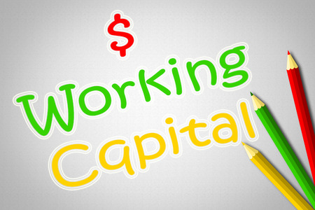 Working Capital Concept text
