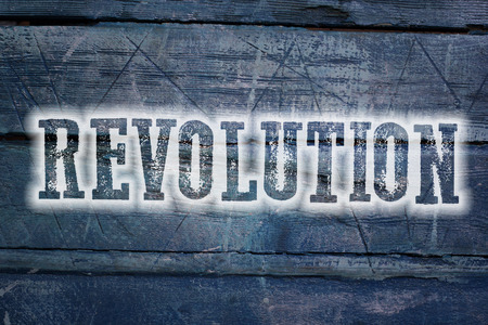 Revolution Concept text