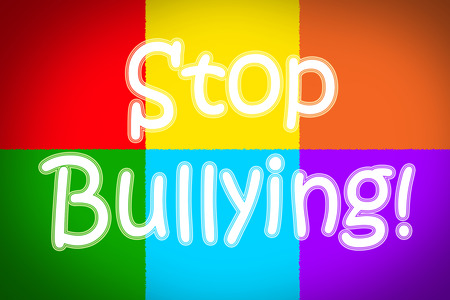 bullying: Stop Bullying Concept Stock Photo
