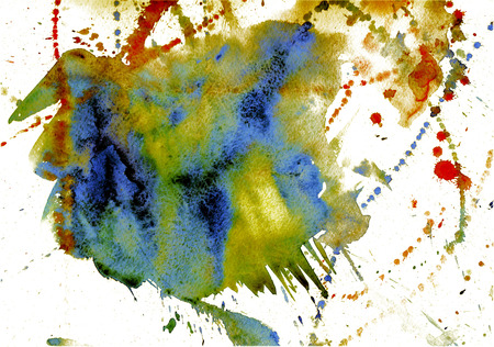 splash abstract: watercolor splash abstract background