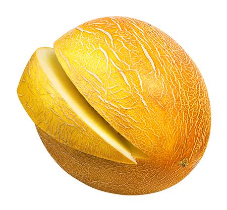 melon isolated on white background Stock Photo