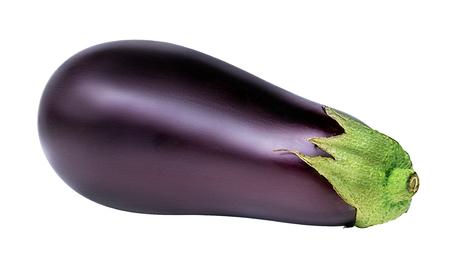 eggplants isolated on white background Фото со стока - 78113410