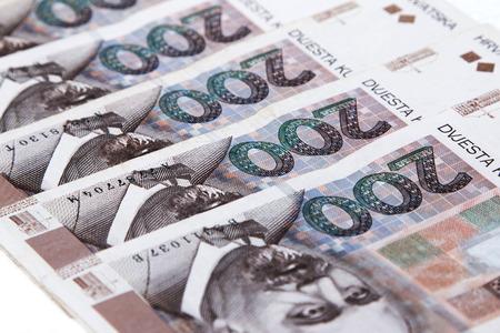 croatian: Croatian kuna banknotes
