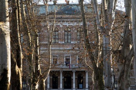 Park Zrinjevac and Croatian academy of science and arts