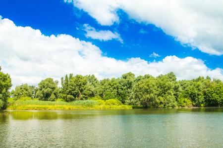 スラボニア、クロアチア、人気の観光地や鳥の予約で自然公園コパッキリットのチャネル