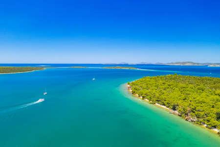 Beautiful seascape on Adriatic sea, island of Dugi Otok in Croatia Stock fotó