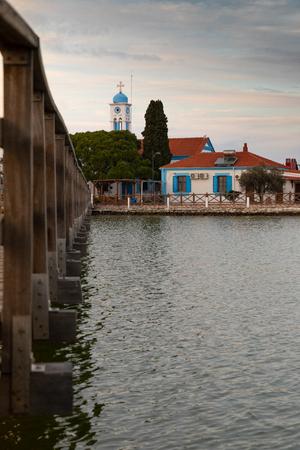 Saint Nicholas monastery in Porto Lagos, Xanthi, Greece