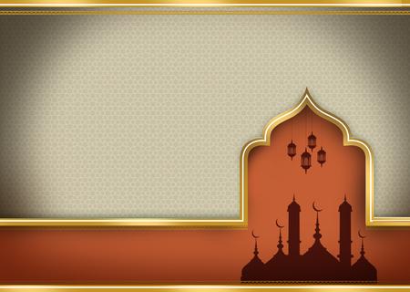 grey shadow islam card 版權商用圖片