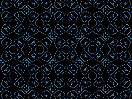 islamic background pattern Stock Photo