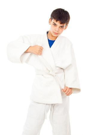 receptions: funny guy engaged taekwondo and corrects belt