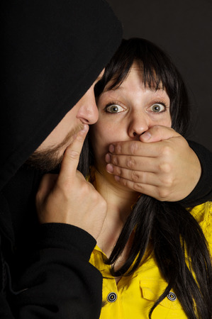 offender: Offender says remain silent victims mouth shut