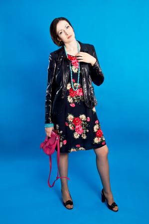 Beautiful glamor model high Stok Fotoğraf
