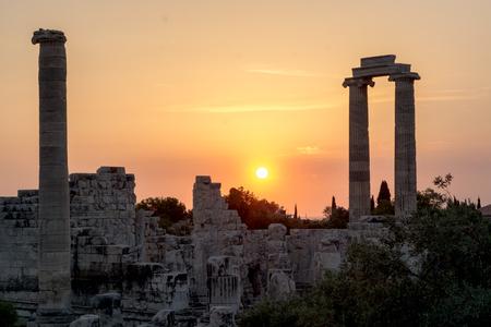 Temple of Apollo Didyma Stock Photo