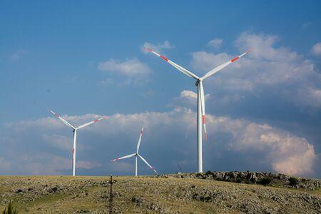 Alternative Energy Wind Turbine Stock Photo - 132569800