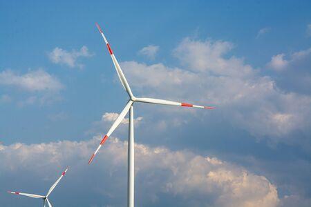 Alternative Energy Wind Turbine Stock Photo - 132569177