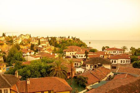 Old town Kaleici in Antalya, Turkey
