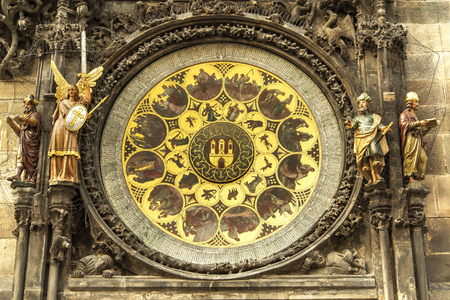 astronomical: Astronomical clock in Prague