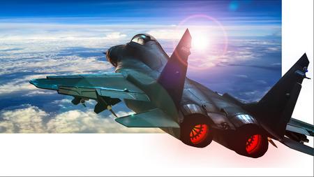tactische jets staking Stockfoto